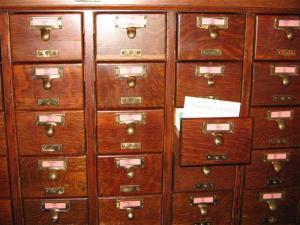 card files