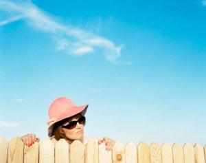 Good fences make curious neighbors.